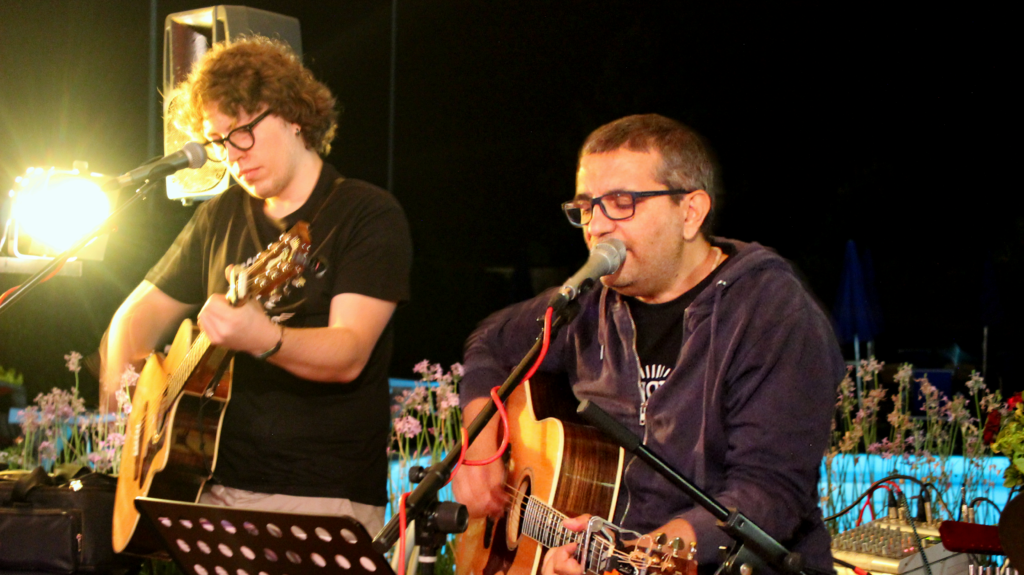 The Jaygles Live unplugged in Genzano